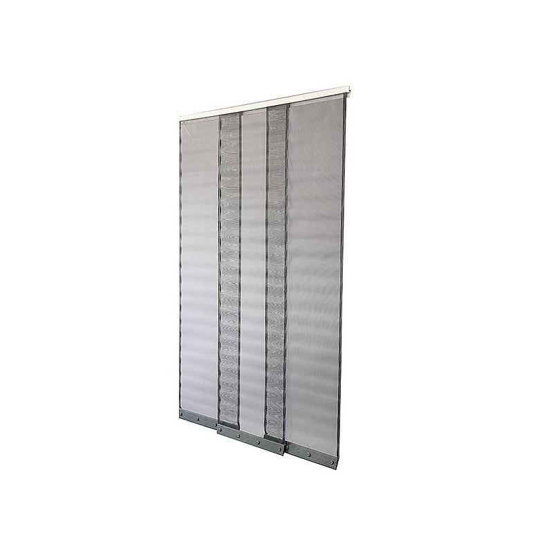 Achat rideau moustiquaire pour porte pas cher 2 dimensions for Moustiquaire rideau pour porte fenetre